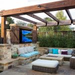 Fire Pit Seating Ideas 164