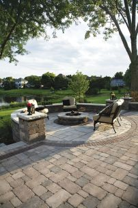 Fire Pit Seating Ideas 17
