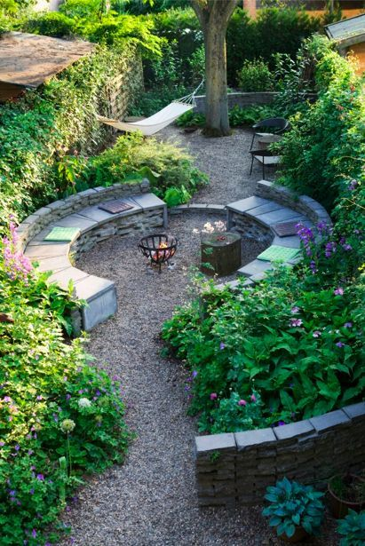 Fire Pit Seating Ideas 2