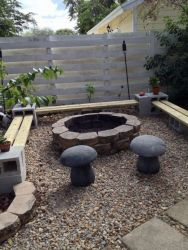 Fire Pit Seating Ideas 54