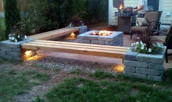 Fire Pit Seating Ideas 67