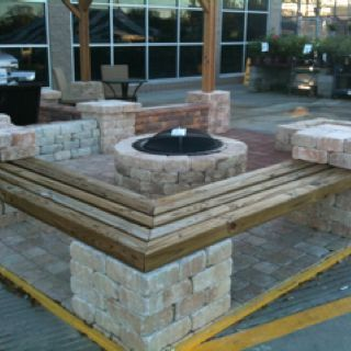 Fire Pit Seating Ideas 68