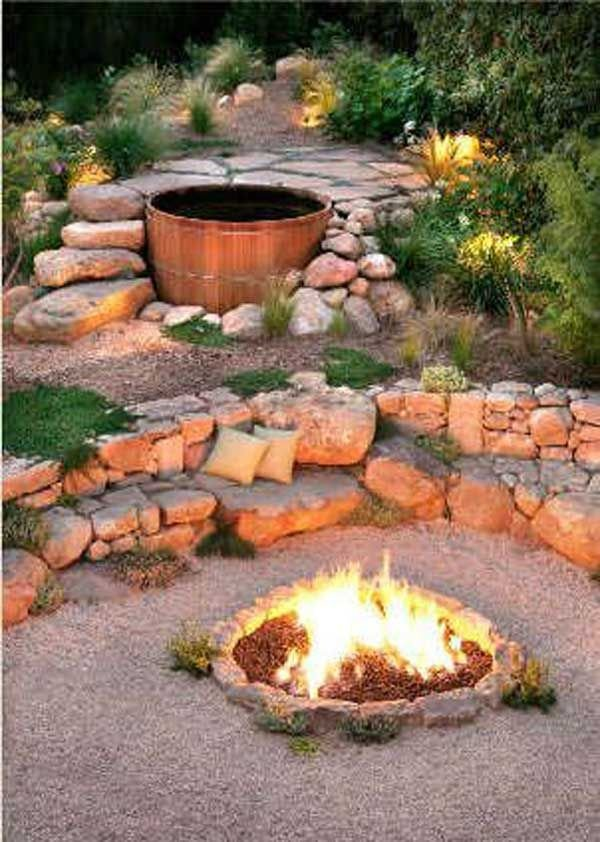 Fire Pit Seating Ideas 69