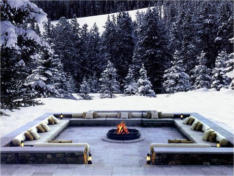 Fire Pit Seating Ideas 7