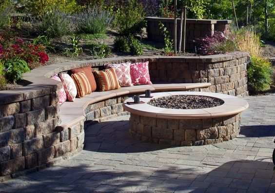 Fire Pit Seating Ideas 70
