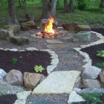 Fire Pit Seating Ideas 75
