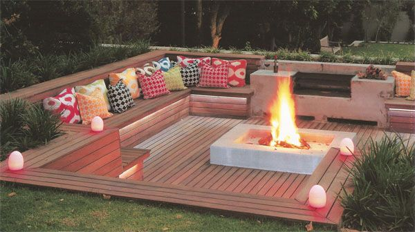 Fire Pit Seating Ideas 85