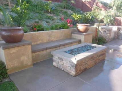 Fire Pit Seating Ideas 94