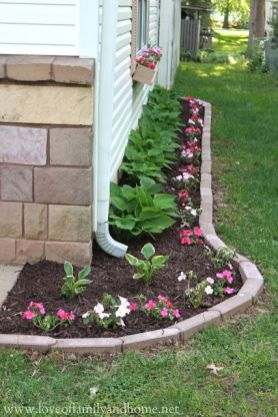 Flower Beds In Front Of House 113