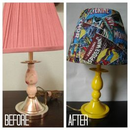 Lamp Makeover 8