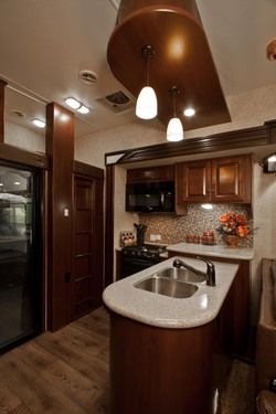 Motorhome RV Trailer Interiors 107