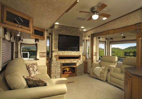 Motorhome RV Trailer Interiors 142