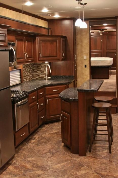 Motorhome RV Trailer Interiors 149
