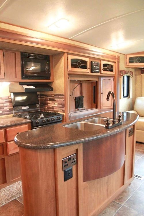 Motorhome RV Trailer Interiors 21