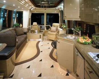 Motorhome RV Trailer Interiors 33