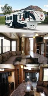 Motorhome RV Trailer Interiors 45