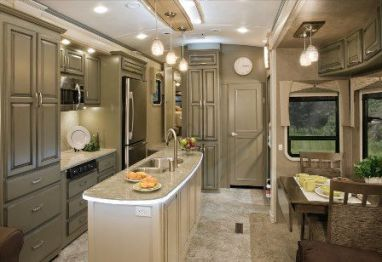 Motorhome RV Trailer Interiors 51