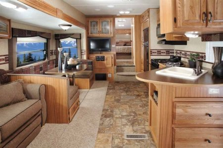 Motorhome RV Trailer Interiors 71