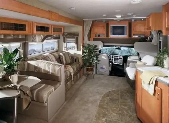Motorhome RV Trailer Interiors 82