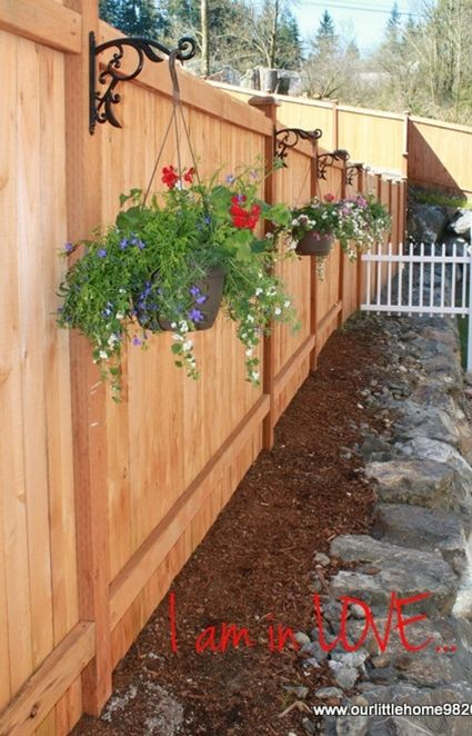 Privacy Fence Ideas 110