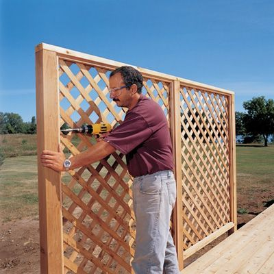 Privacy Fence Ideas 135