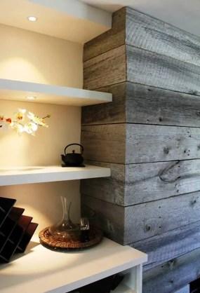 Reclaimed Wood Fireplace 114