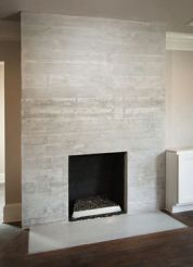 Reclaimed Wood Fireplace 120