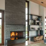 Reclaimed Wood Fireplace 121