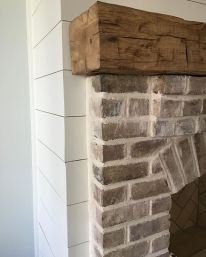 Reclaimed Wood Fireplace 131