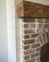 Reclaimed Wood Fireplace 131