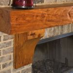 Reclaimed Wood Fireplace 135