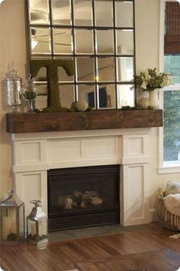 Reclaimed Wood Fireplace 140
