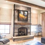 Reclaimed Wood Fireplace 149