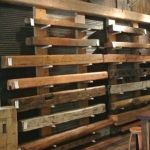 Reclaimed Wood Fireplace 151