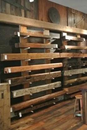 Reclaimed Wood Fireplace 151