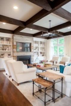Reclaimed Wood Fireplace 16