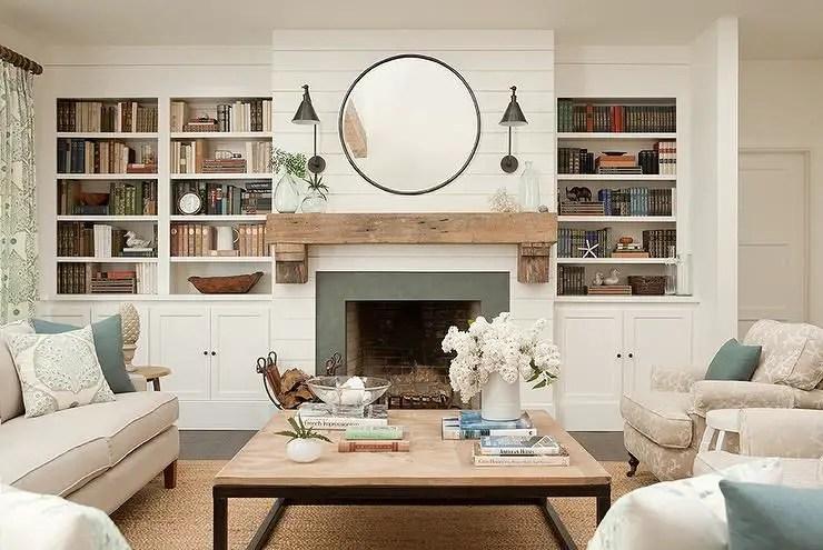 Reclaimed Wood Fireplace 25