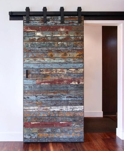 Reclaimed Wood Fireplace 26