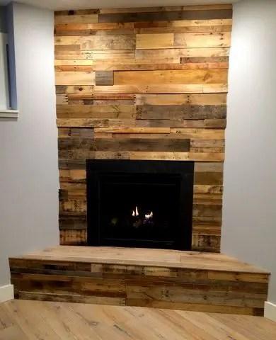 Reclaimed Wood Fireplace 27
