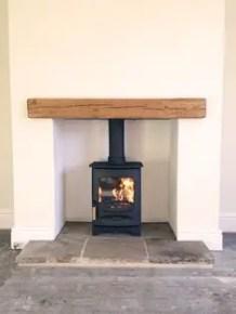 Reclaimed Wood Fireplace 35