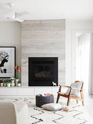 Reclaimed Wood Fireplace 42