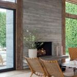 Reclaimed Wood Fireplace 44