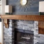 Reclaimed Wood Fireplace 5