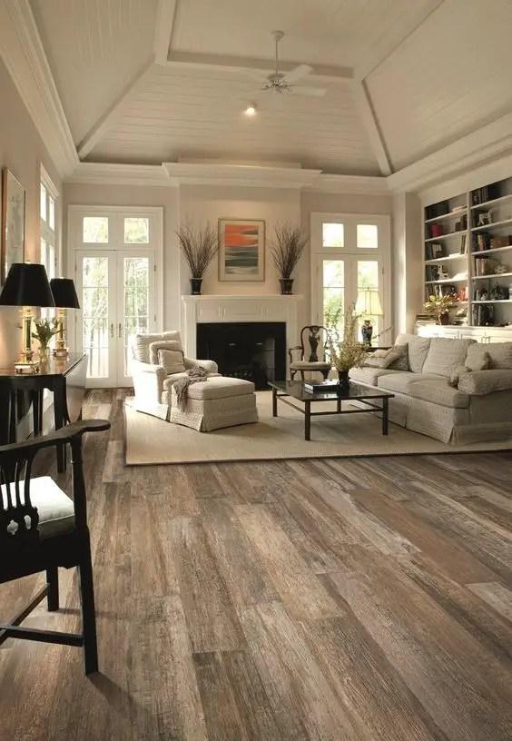 Reclaimed Wood Fireplace 50