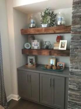 Reclaimed Wood Fireplace 58