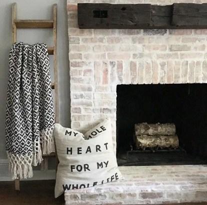 Reclaimed Wood Fireplace 71