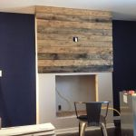 Reclaimed Wood Fireplace 74
