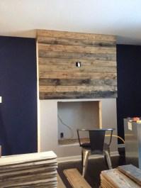 Reclaimed Wood Fireplace 74