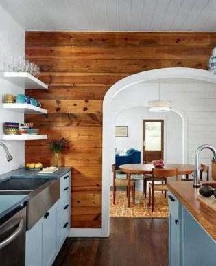 Reclaimed Wood Fireplace 79