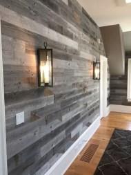 Reclaimed Wood Fireplace 90